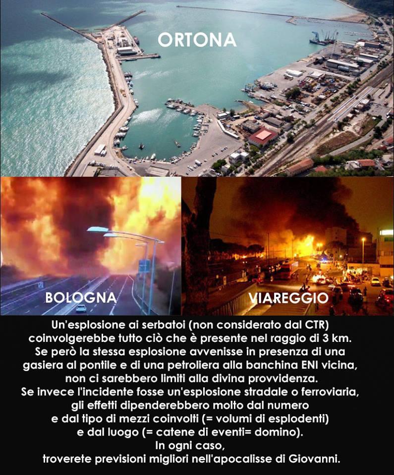Esplosione Borgo Panigale
